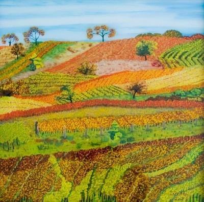 Weinlandschaft II